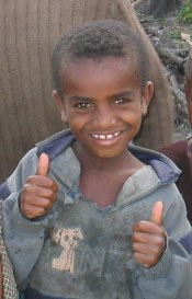 Boy in Addis Ababa