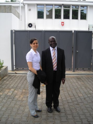 """In Accra for the """"Ghana Investment Promotion Event"""", Swiss Embassy (2010)"""