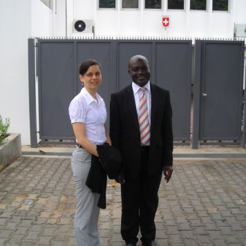 "In Accra for the ""Ghana Investment Promotion Event"", Swiss Embassy (2010)"