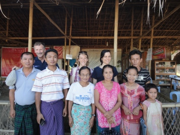 Meeting with the IDP Camp Management, Kachin 2014