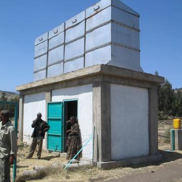 Solar pump system (East Ethiopia, 2005)