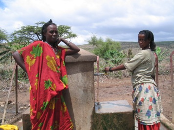Fetching water is a female thing (East Ethiopia, 2005)