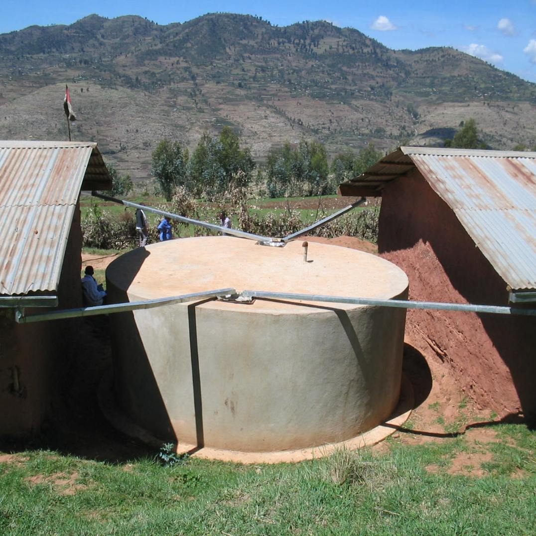School water cistern, East Ethiopia (2005)
