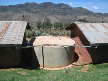 School water cistern, East Ethiopia (2005)