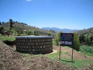 Water reservoir (East Ethiopia, 2005)