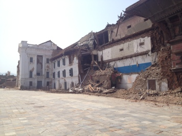 Nepal Earthquake 2015, Durbar Square Kathmandu