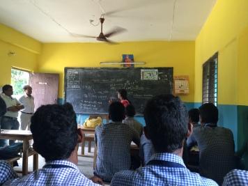 Puri, Odisha 2015: Joining chemistry lessons