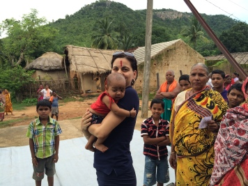 Keonjhar, Odisha 2015: Joining the mobile clinic on its tour to Somagiri region