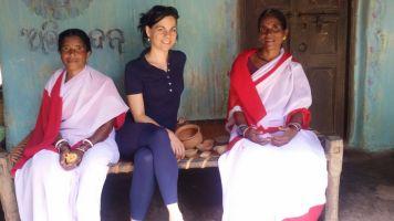 Keonjhar, Odisha 2015: With Health Workers of the Somagiri Tribal Health Centre