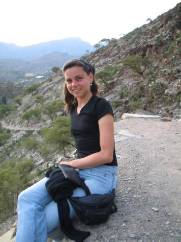 On the road in the mountains of Tigray (2003)