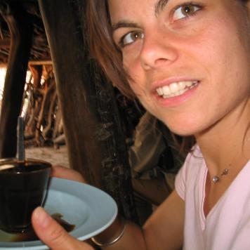 Invitation to Ethiopian coffee ceremony (2003)
