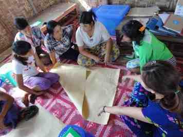 Mine Risk Education, Kachin 2014
