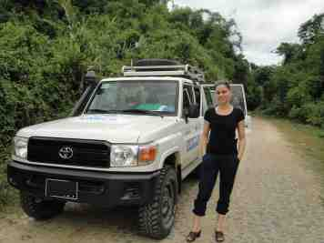 On the road with UNHCR from Myitkyina to Bhamo 2014