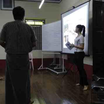 Protection Workshop, Mawlamyine 2014