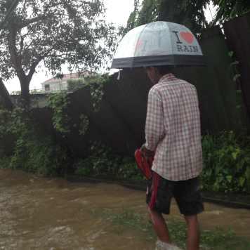 Rainy season in Yangon