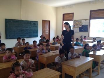 School visit in Ye Township (South East Myanmar)