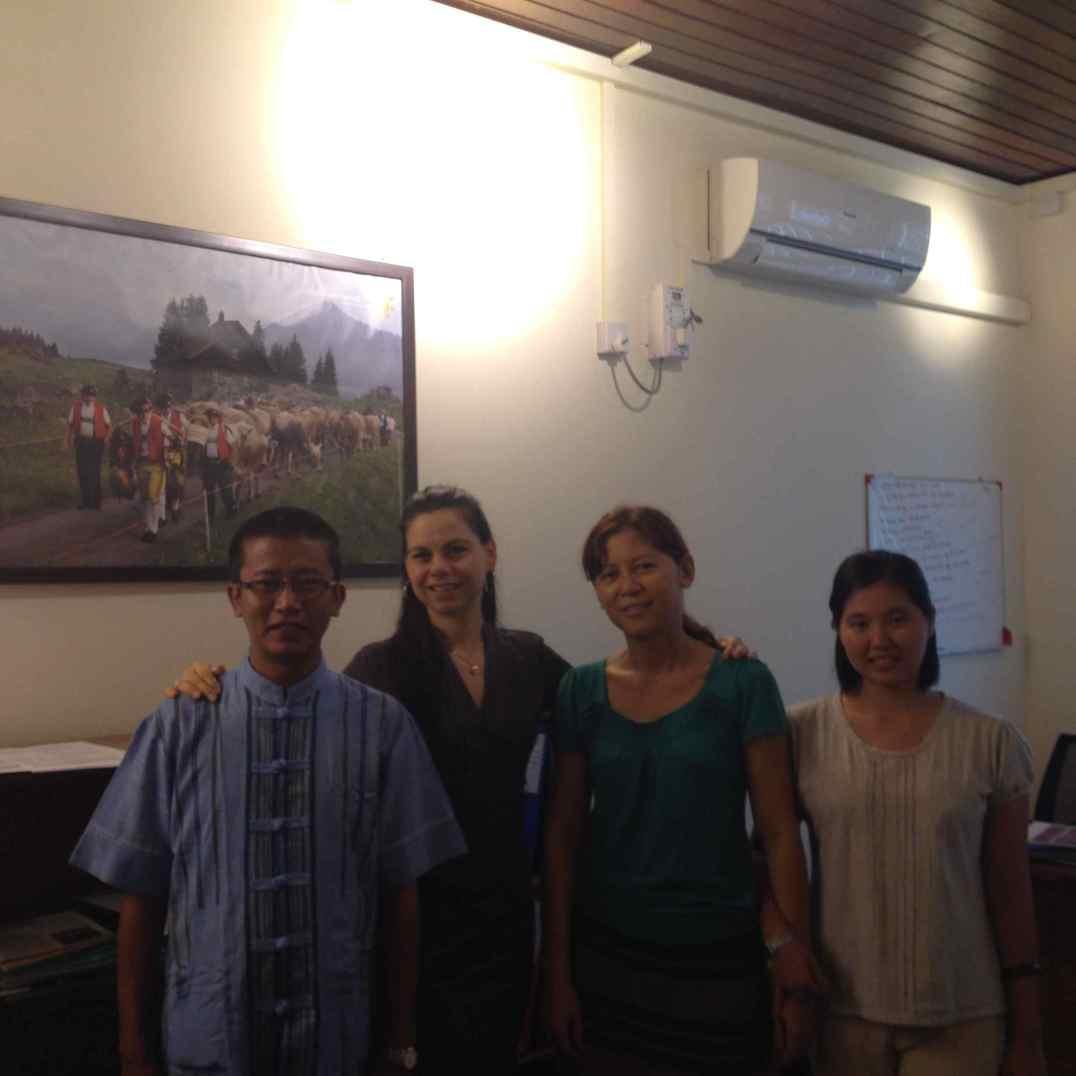 Humanitarian Aid Office Team in Yangon, 2014