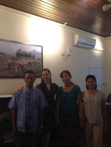 (Part of the) Humanitarian Aid Office Team in Yangon, 2014