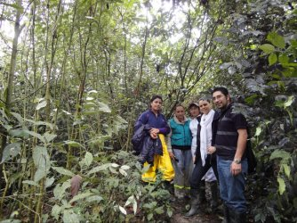 Visiting Agritech - Organic fruit production in Colombia (2011)