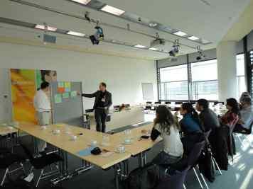 Colombian enterpreneurs visit European Food Trade Fair (Workshop with Organic Services in Nurnberg, 2011)